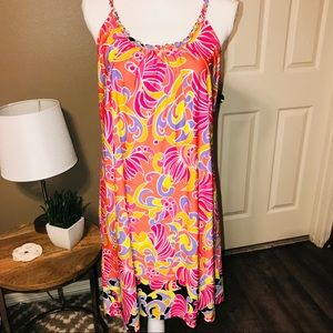 Sam and Jess Dresses - COLORFUL SUNDRESS W/ GOLD DETAIL